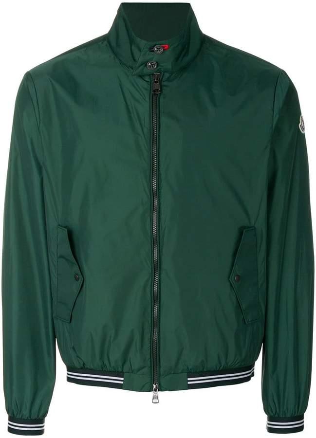 Moncler high neck bomber jacket