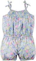 Carter's Sleeveless Floral Romper - Baby Girls newborn-24m
