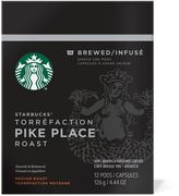 Starbucks VerismoTM 12-Count Pike's Place® Roast Brewed Coffee Pods