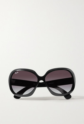 Ray-Ban Jackie Ohh Ii Oversized Square-frame Acetate Sunglasses - Black