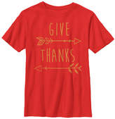Fifth Sun Red 'Give Thanks' Crewneck Tee - Youth
