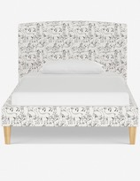 Rylee + Cru Colby Curved Bed, Woodland