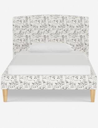 Lulu & Georgia Rylee + Cru Colby Curved Bed, Woodland