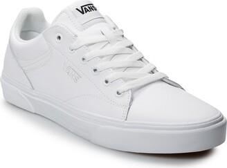 Vans White Leather Men's Shoes | Shop