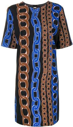 Marni chain print dress