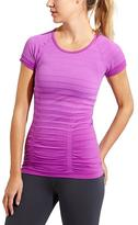 Athleta Gradient Stripe Fastest Track Tee