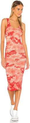 Enza Costa X REVOLVE Silk Rib Tank Midi Dress