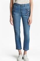 Doodle Denim Boyfit Embellished Jeans