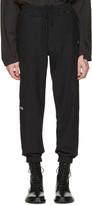 Vetements Black Champion Edition Chav Lounge Pants