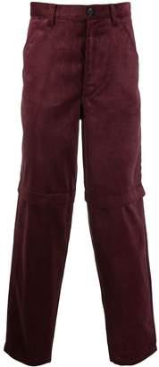 Comme des Garcons slim corduroy trousers