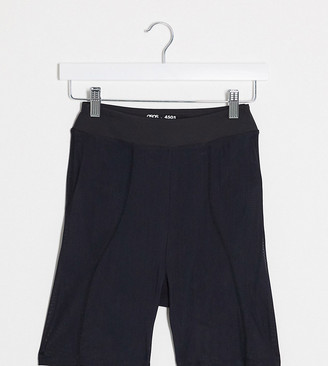 ASOS 4505 Tall extreme mesh overlay booty short