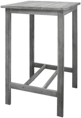 Vifah Renaissance Outdoor Wooden Bar Table
