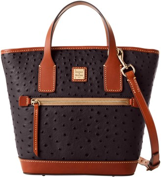 Dooney & Bourke Ostrich Small Convertible Tote