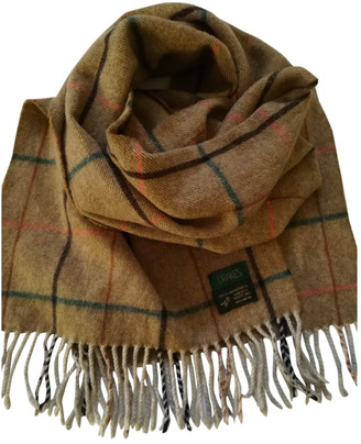Drakes Multicolour Wool Scarves & pocket squares