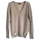 Calvin Klein Collection Beige Cashmere Knitwear for Women