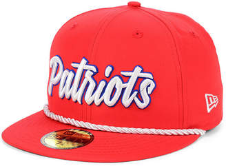 New Era Boys' New England Patriots On-Field Sideline Home 59FIFTY-fitted Cap