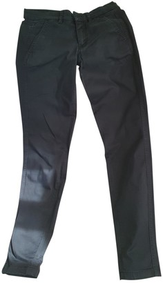 Drykorn Black Cotton Jeans for Women