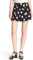 Kate Spade &daisy Dot& Pleat Shorts