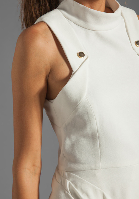 Camilla And Marc Synonymous Draped Crepe GGT Dress