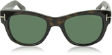 Tom Ford CARY FT0058 52N Havana Acetate Sunglasses