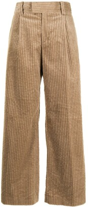 Undercover Corduroy Wide-Leg Trousers