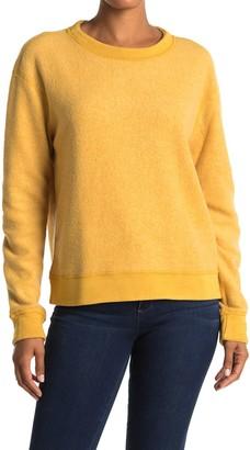 Michael Stars Celeste Fleece Pullover Sweatshirt