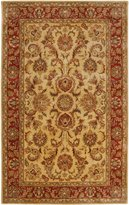 Surya A111-58 Gold Ancient Treasures Collection Rug - 5 x 8 Feet