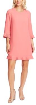 CeCe Ruffled Crepe Dress