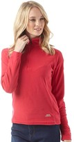 Trespass Womens Shiner 1/2 Zip Micro Fleece Raspberry