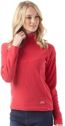 Trespass Womens Shiner 1/2 Zip Micro Fleece Raspberry