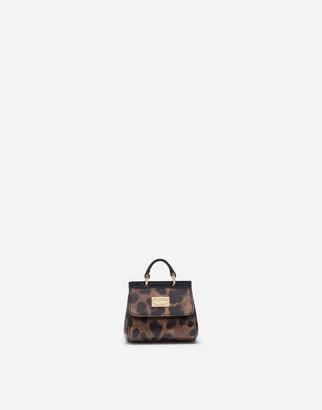 Dolce & Gabbana Calfskin Sicily Keychain