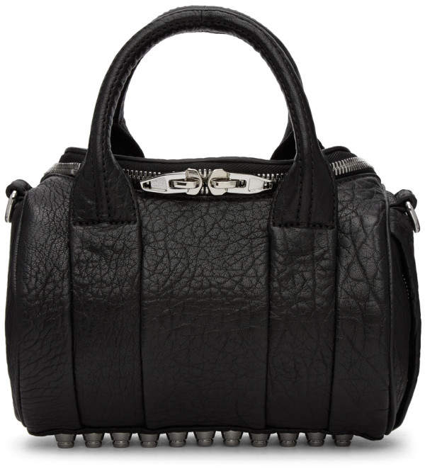 Alexander Wang Black Mini Rockie Bag