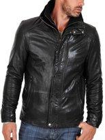 Laverapelle Men's Lamb skin Real Leather Jacket - 1510105