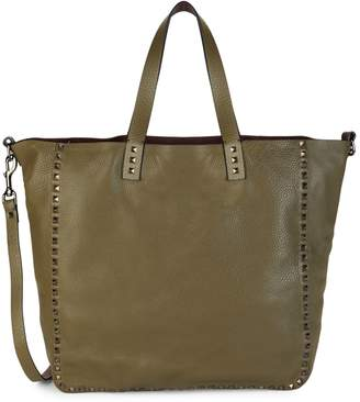 Valentino Rockstud Reversible Leather Tote