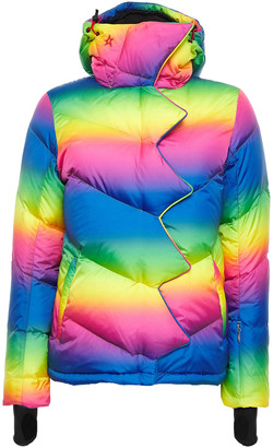 Perfect Moment Super Day Quilted Degrade Shell Down Ski Jacket