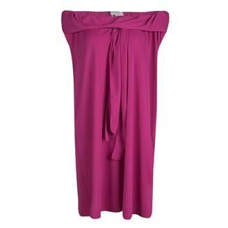 Saint Laurent Pink Polyester Dresses