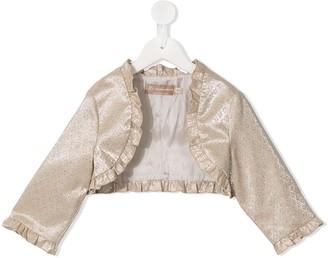 La Stupenderia Frill Trim Bolero Jacket