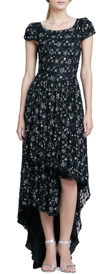 Alice + Olivia Glen Hi-Lo Dress