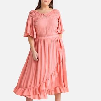 Castaluna Plus Size Ruffled Maxi Dress