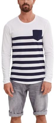edc by Esprit Men's 037CC2K045 Longsleeve T-Shirt