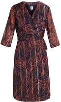 Saint Tropez PAISLEY WRAP Summer dress lantana
