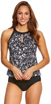 Longitude Eyes On Me Keyhole Tankini Top 8150530