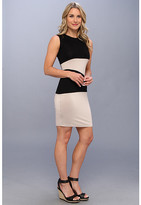 Calvin Klein Two-Tone Rayn Dress CD4N15U6