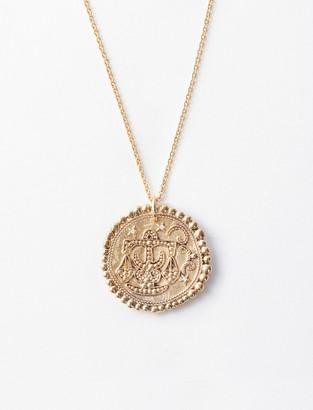 "Maje ""Balance"" Astrological Necklace"