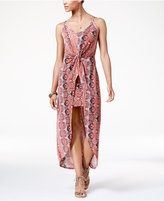 Ultra Flirt Juniors' High-Low Maxi Dress