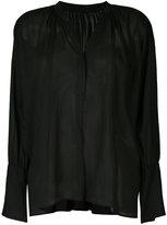 ESTNATION sheer blouse