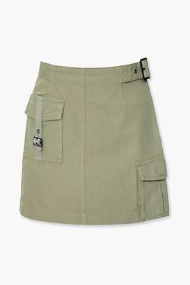 Forever 21 Utility Cargo Mini Skirt