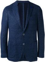 Lardini single-breasted tailored blazer - men - Cotton/Linen/Flax/Polyester - 50