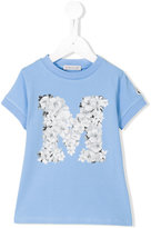Moncler graphic floral print top - kids - Cotton/Spandex/Elastane - 5 yrs