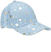 David & Young Blue Star Baseball Cap